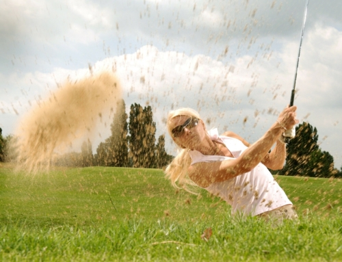 Golf is a four letter word:  life lessons we all need to learn